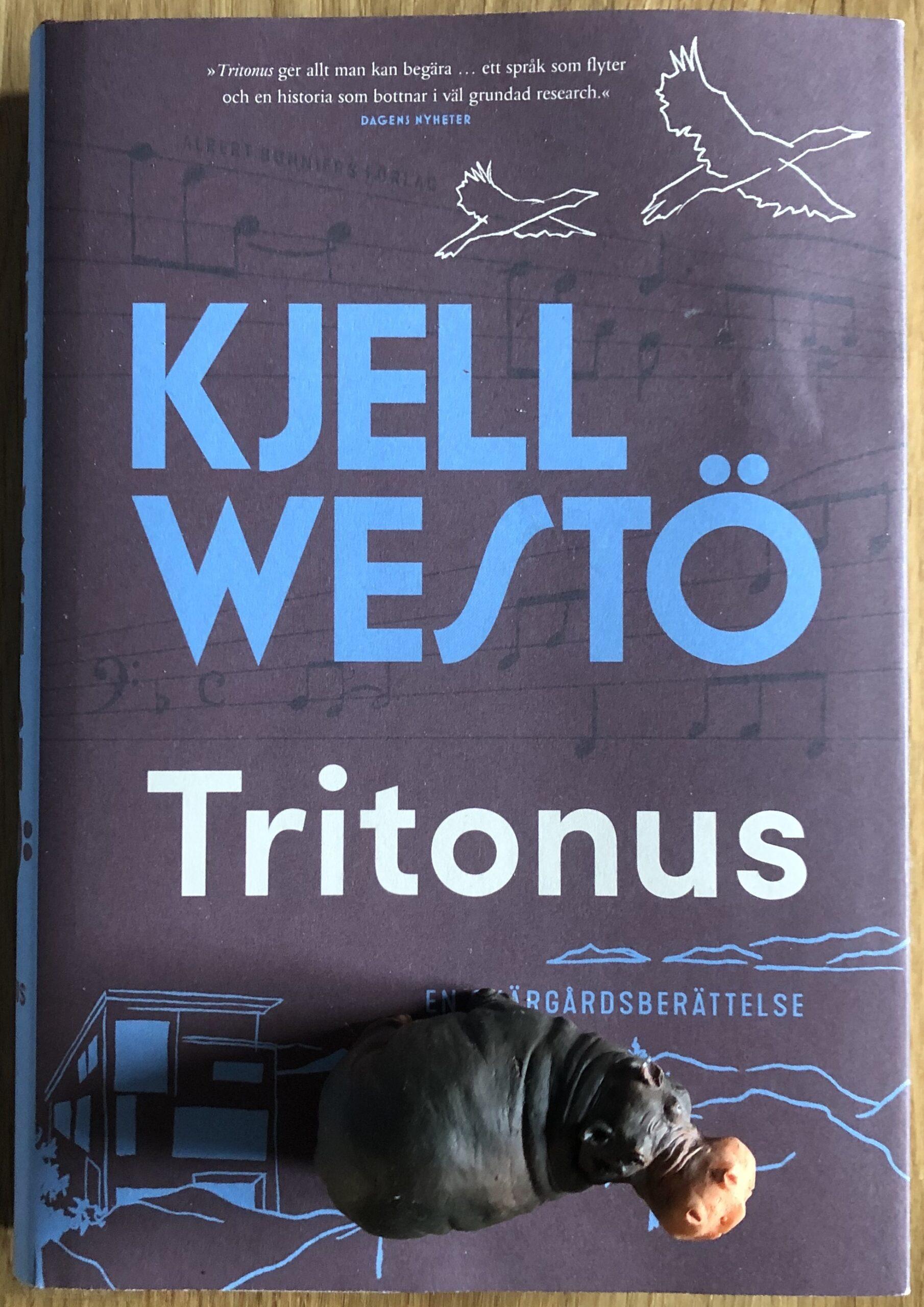 Omslaget till Kjell Westös bok Tritonus.
